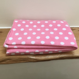 Pet Blanket Pink Dot - Gifts for Dog Lovers