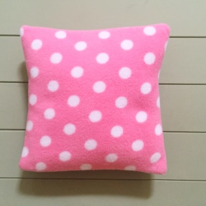 Small Dog Cushion Pinks spot
